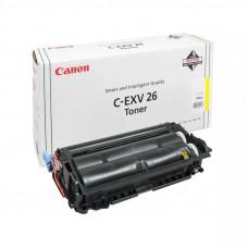 Заправка картриджа Canon C-EXV26Y
