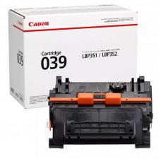 Заправка картриджа Canon Cartridge 039