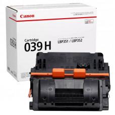 Заправка картриджа Canon Cartridge 039H